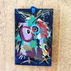 Merry Morepork/Owl Decoration Blue (2) Nativity, Fun Facts, Gift Wrapping, Owl, Merry, Decoration, Artwork, Pink, Christmas