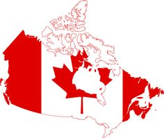 Flag- map of Canada to print on a t-shirt or as a background.Design the flag of Canada. French Teacher, Teaching French, Facts About Canada, Communication Orale, French Songs, French Films, Core French, Happy Canada Day, French Classroom