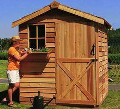 Sheds - Gardener Cedar Shed Kits