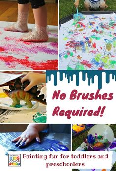 Painting Minus the Brush - Kids Co-op