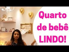 TOUR QUARTO BEBÊ - Maria Antônia - YouTube