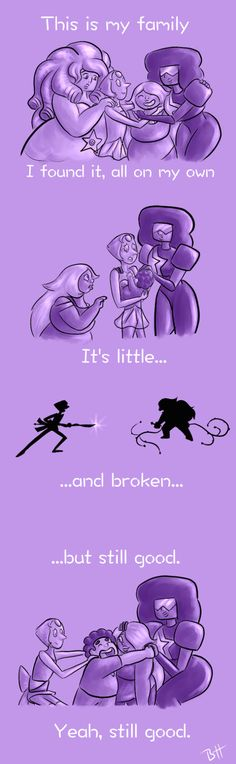 How 'bout I add a Lilo and Stitch quote to Steven universe. Lilo And Stitch Quotes, Lilo Stitch, Steven Universe Comic, Steven Universe Quotes, Amethyst Steven Universe, Bubbline, Fan Art, Universe Art, Arte Pop