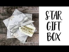 Hello, I saw this little treat wrapping idea on a YT video by The Paper Pixie, who had adapted the sizing to fit a Ferrero Rocher chocolate just perfectly. Envelope Punch Board, Christmas Gift Box, Christmas 2019, Christmas Ideas, Paper Cards, Paper Boxes, Gift Card Boxes, Star Gift, Stamping Up