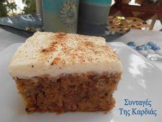 Apple carrot cake Carrot Cake, Vanilla Cake, Tiramisu, Carrots, Recipies, Sweets, Apple, Ethnic Recipes, Desserts