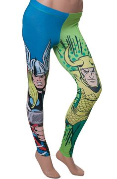 Thor and Loki Leggings