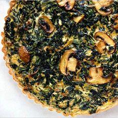 [Gastronomics] Dandelions: Foraging Guide and Recipes   Dandelion Greens and Mushroom Tart