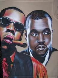 Kane west and jay z