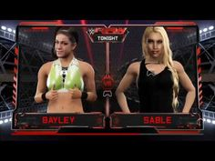 WWE2K17-DIVAS UNIVERSE-RAW-BAYLEY V SABLE.