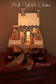 Putz Christmas House <3