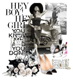 """""""Black and white"""" by mexarchopoulou ❤ liked on Polyvore featuring Chanel and Dolce&Gabbana"""