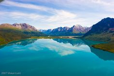 Shaun Lunt's incredible photos from flying his Super Cub in Alaska.