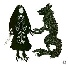 Tin Can Forest's Baba Yaga and Wolf