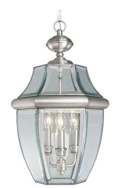 Livex Lighting 2355 Monterey 3 Light Outdoor Pendant