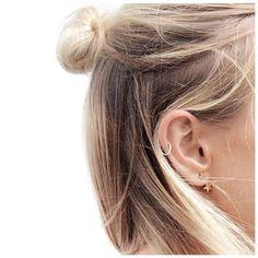 Piercing en la oreja – imágenes, tipos y tendencias | Tatuajes para Mujeres