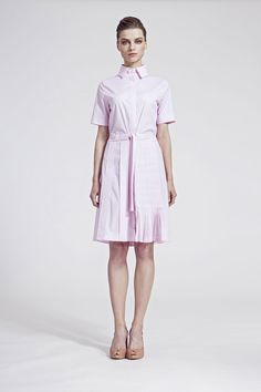 IMRECZEOVA SS16 light pink shirt dress Ss16, Shirt Dress, Pink, Shirts, Dresses, Fashion, Gowns, Moda, Shirtdress