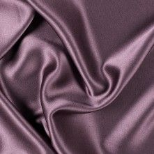 Eggplant Silk Crepe Back Satin- Mood- BHT gown