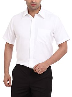 This contemporary fit shirt from Raymond is very popular among men across ages. It is made from pure cotton which gives you comfort even after wearing for longer hours. The superior quality fabric ensures that your garment looks like a newly bought one even after several washes. This light white colored shirt looks very professional. You can wear it with pride to your work place and make your colleagues envy your style. It also enhances your personality and gives you a superior level of ...
