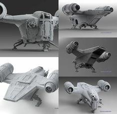 Original Trilogy, Original Art, Mandalorian Ships, Nave Star Wars, Star Ship, Star Wars Ships, Lego Ideas, Model Ships, Clone Wars