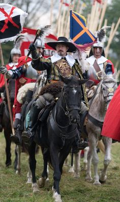 Spanish Cavalry at the Battle of Grolle, 1627.