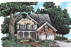 Frank Betz Associates has many house plans in our extensive database. Search for a house plan that will meet your needs! Farmhouse Floor Plans, Cottage Floor Plans, Country House Plans, Frank Betz, Affordable House Plans, House Layouts, Cottage Homes, Custom Homes, Building A House