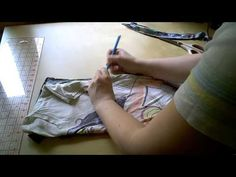 How To Sew - Resize a T-shirt Tutorial - DIY Fashion     Happy Sharing. PIN, Repin