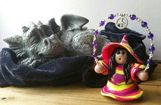 Check out this item in my Etsy shop https://www.etsy.com/listing/532190737/lil-mz-witch-wendy-manifest-peace