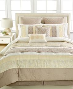 Middleton 8-Pc. Queen Comforter Set - Bed in a Bag - Bed & Bath - Macy's