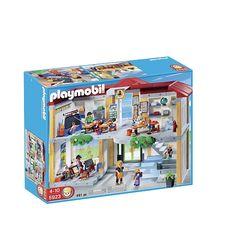 Playmobil Ecole avec 3 salles de classe 5923 prix promo Jouets Mattel Toys R Us 74.99 € TTC au lieu de 99.99 €