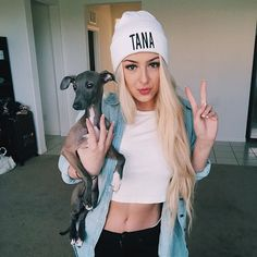 Tana Mongeau is a famous youtuber, who use her fame to defend the BlackLivesMatter group, and support them because she values the idea that everyone should be equal and nobody should be oppressed.
