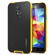Carcaça Samsung Galaxy S5 Spigen SGP Neo Hybrid Amarelo  19,99 €