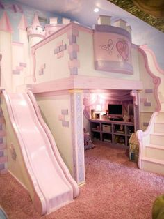 sweet is this play room set-up for a little girl? How sweet is this play room set-up for a little girl? - Kids Room IdeasHow sweet is this play room set-up for a little girl? Girls Bedroom Sets, Pink Bedrooms, Girl Bedroom Designs, Little Girl Rooms, Baby Bedroom, Girl Kids Room, Kids Bedroom Ideas For Girls, Kids Girls, Pink Bedroom Walls