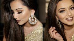 Diwali Makeup Tutorial 2015   Golden & Bronze Party Makeup   Kaushal Beauty