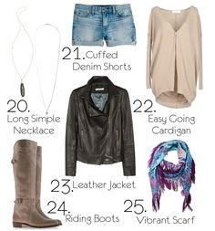 Cashmere and Coco: 52 Closet Basics to Build Your Wardrobe!