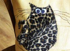 Cats Pillow Cats Lovers Art Pillow Decorative Pillow by CatsFreya