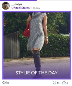 Fabulous Fashom User Dalyn looking amazing in her outfit on the Fashom app.
