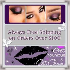 High quality, naturally based cosmetics, and always free shipping on orders over $100 USD! Be Younique!  Shop browse or order from my online party & webpage. https://www.youniqueproducts.com/WendyKHarris