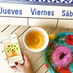 """294 Me gusta, 23 comentarios - Sil Scala (@elblogamarillo) en Instagram: """"Domingo a la tarde, y después de mi cafecito y mi dona (si quieren saber donde la compre pasen por…"""""""