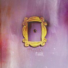 Monica Geller's door frame - F.R.I.E.N.D.S   ...   درِ خونهی مانیکا گلر - فرندز