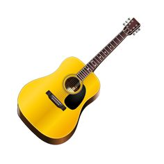 This acoustic guitar is perfect for strumming some relaxed, melodical tunes. Great for around a campfire.