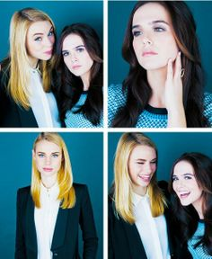 Lucy and Zoey