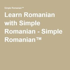 In this lesson, I'll teach you how to make Romanian friends and say hi in Romanian! I also teach you how to learn Romanian Romanian Language, Say Hi, Languages, Spanish, Teaching, Simple, Libros, Idioms, Language