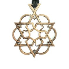 David Starfire's Ascend Sacred Geometry Merkaba flower of life Pendant