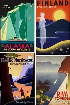 How to Design a Vintage Travel Poster in Adobe Illustrator and Photoshop - Envato Tuts+ Design & Illustration Tutorial
