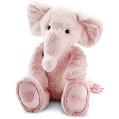 Jellycat 'My First Elephant' Stuffed Animal Elephant Baby Rooms, Pink Elephant, Elephant Stuffed Animal, Stuffed Animals, Delta Girl, Jellycat, Childhood Toys, Girl Nursery, Nursery Ideas