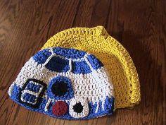Ravelry: Star Wars Droid Beanies free pattern by Jen Spears