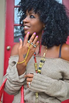 Style Pantry Editor,  Folake's gorgeous curls!