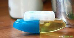 WC-Gel-Spender selbst gemacht - preiswert und umweltfreundlich