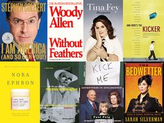 The Ultimate Comedy Library: 57 Books every comedy fan should read (also check the comments for more great suggestions)
