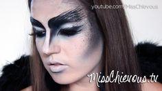 MissChievous.tv: Tutorial: The Crow (Halloween)