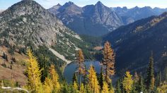 Heather - Maple Pass Loop, Lake Ann (Rainy Pass) — Washington Trails Association